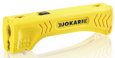 Jokari 30400 Uni-Plus Cable Strippers for Quick, Precise Cable Stripping, 13cm L