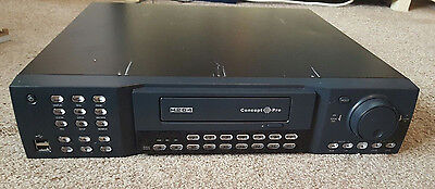 Concept Pro VXH264-16ch CCTV System/Recorder (No HDDs/tested 100% working)