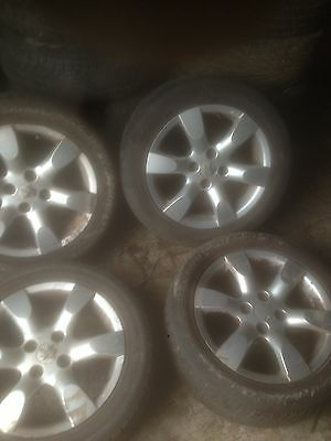 Peugeot 307 205/55/16 Alloy Wheels And Tyres 2006