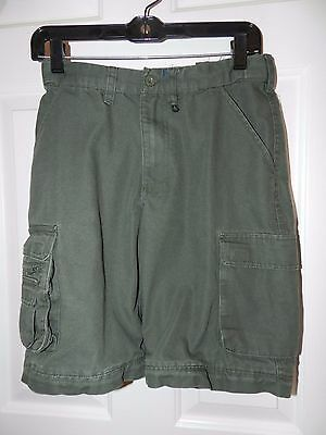 Boy Scouts Of America Convertible Green Uniform Shorts Size Youth 12