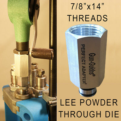 Perfect Adapter for RCBS Hornady Lyman Powder Measures and LEE Dies - Gun-Guides