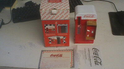 1994 COCA COLA MUSICAL BANK NIB COKE Diecast ENESCO MIB, FREE SHIPPING