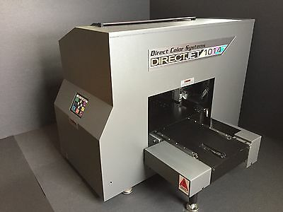 Direct Color Systems Direct Jet 1014 UV Printer Used in great condition