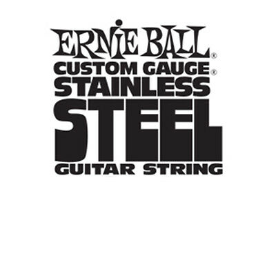 Ernie Ball Stainless Steel Custom Gauge Electric Guitar Strings 6-Pack