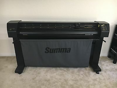 "SUMMASIGN SUMMA T1400 PRO 54"" TANGENTIAL PLOTTER / CUTTER Vinyl Graphics Florida"