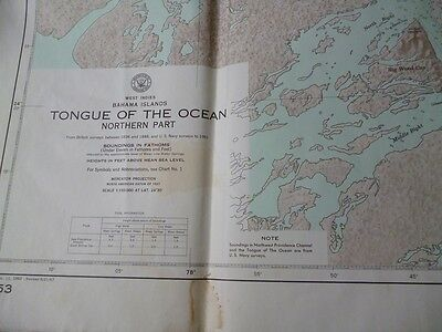 West Indies Bahama Islands - Tongue of the Ocean Northern Part 5953