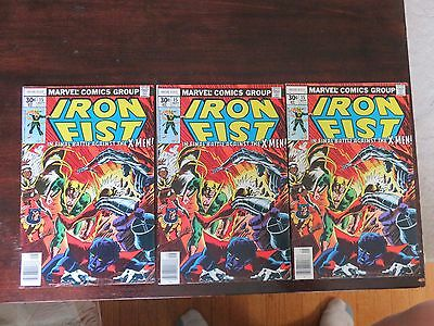 Iron Fist #15 (Sep 1977, Marvel) VF 8.0 several available