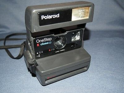 Polaroid One Step Close Up 600 Instant Film Camera Untested!