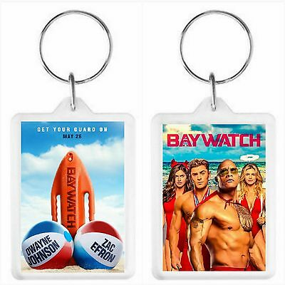 Baywatch Movie Key Ring 50 x 35mm. Donation made to Charity.