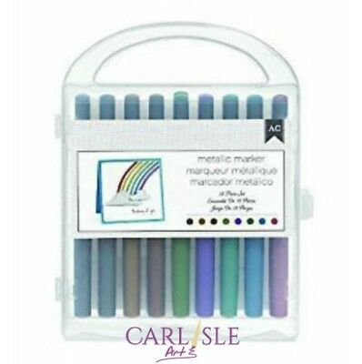American Crafts Metallic Marker Set - 18 piece set