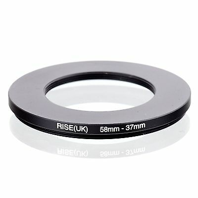 RISE(UK) 58-37  58-37mm  Matel Step Down Ring Filter Camera Adapter 58-37