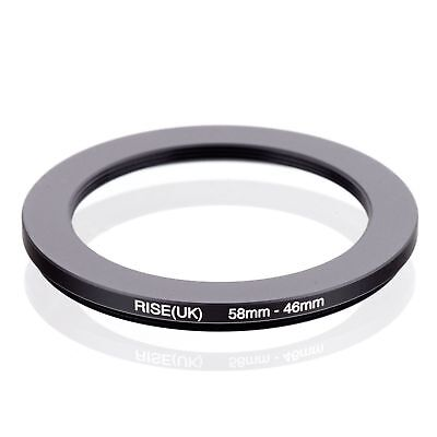 RISE(UK) 58-46 58-46mm  Matel Step Down Ring Filter Camera Adapter 58-46