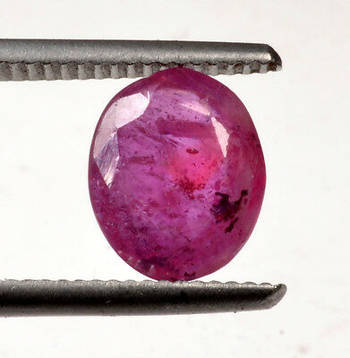 MGL 3.36 Ct Certified Natural Oval Mixed Ruby Loose Gemstone SN-3565