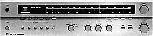 DUAL CR 1710 Stereo Receiver