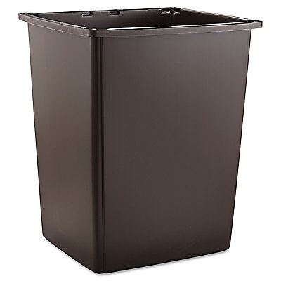 Glutton Container, Rectangular, 56gal, Brown