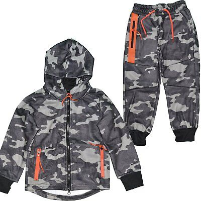 Closeout - Ensemble Complet Jogging - Enfant - Kids Ensemble Camo J241 - C Neuf