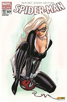 SPIDER-MAN 29 deutsch VARIANT PP lim.33 PUBLISHER PROOF SCOTT CAMPBELL Black Cat