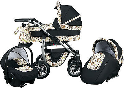 Leo pram pushchair Travel System 3in1 from Baby Merc