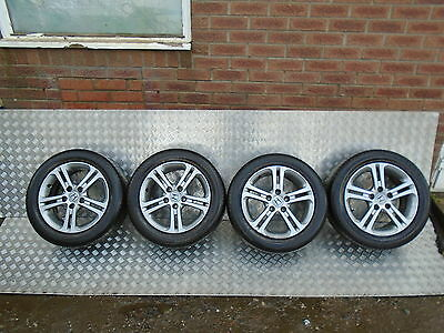 "Honda Civic 16"" Alloy Wheels With Tyres 205/55/16"