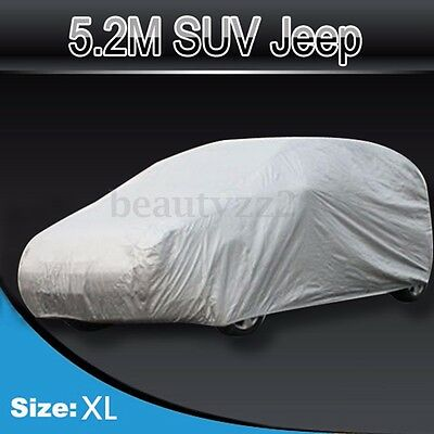 4x4SUV Car Cover Waterproof Dust Rainproof Sunscreen UV Protection 5.2M AU STOCK