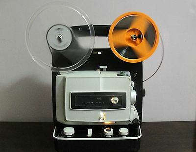 ELMO FP-A Standard 8mm & Super 8 ADJUSTABLE SPEED Movie Projector