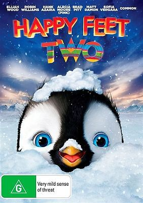 Happy Feet Two (DVD, 2012)  Brand new, Genuine & Sealed  - Free Postage D68