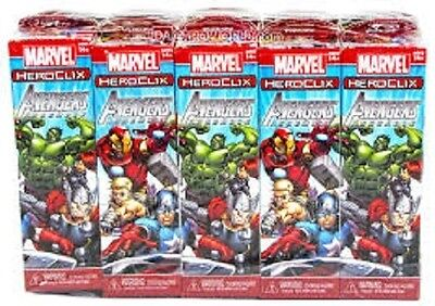 Heroclix Avengers Assemble Booster Brick (10 Boosters) New & Sealed Cheap!!