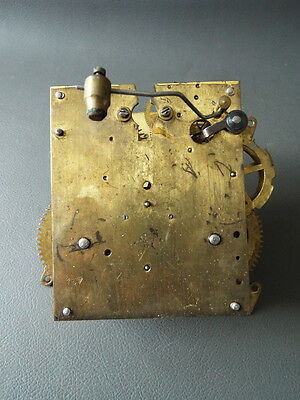 Vintage Philip Haas & Sohne clock movement - repair or spares