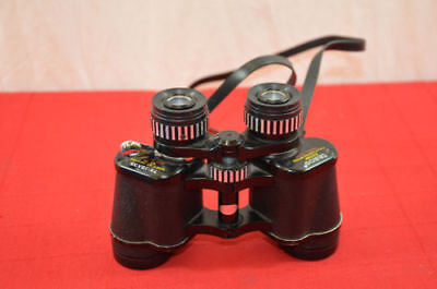 Tasco vintage model 101 binoculars zoom with strap 1370