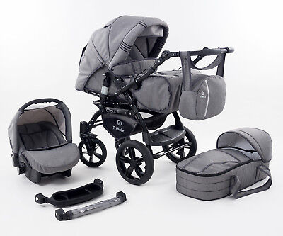 Maylo Twist pram pushchair Travel System 3in1 from Baby Merc ALL IN ONE
