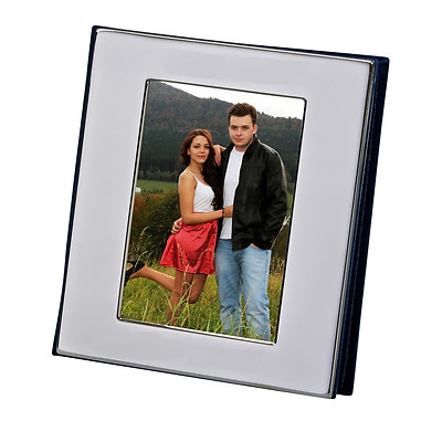 NEW Silver album with window cover holds 100 photos - 4x6 FREE SHIPPING