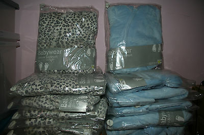 WHOLESALE JOB LOT 13 x MIXED BABY BOYS SNOWSUITS