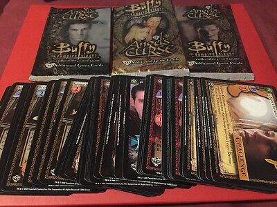 MINT - Buffy the Vampire Slayer CCG Angel's Curse - Uncommon Set With Promo