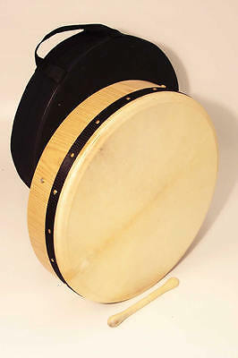 Bodhran, Tunable Ash Wood 18ins