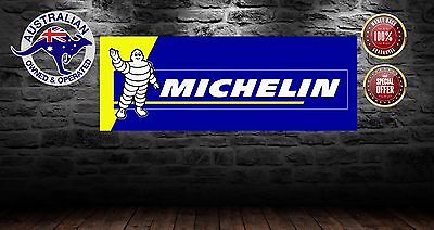 Michelin   Banner Mancave Shed   Bar Sign 1200Mm X 450 Mm