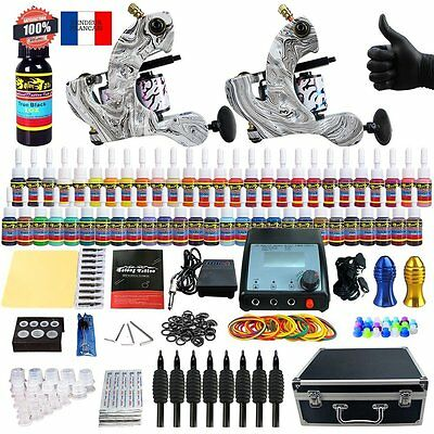 Solong Tattoo® kit machine tatouage encre a tatouer TK259