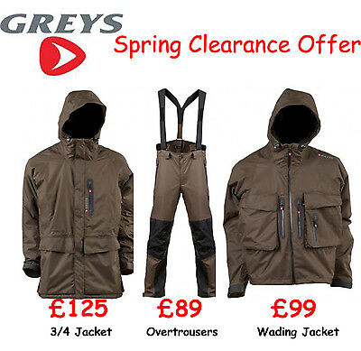 Greys Strata Clothing. SPRING CLEARANCE FROM £89.00