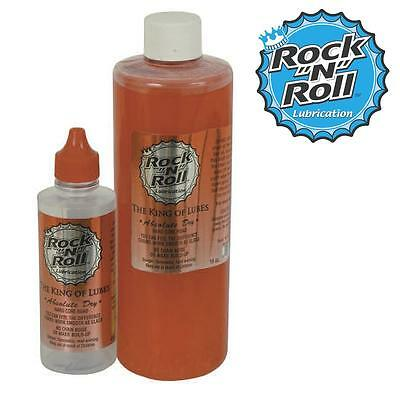 Absolute Dry Rock N Roll Premium Bicycle 16oz Bike Lube Oil Lubricant And Roll