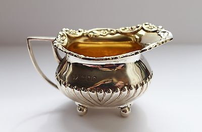 Solid Silver Antique Creamer London 1900