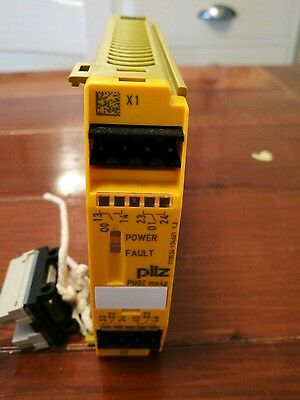 pilz pnoz mo4p safety relay