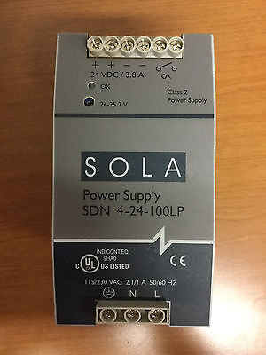 Sola Power Supply Sdn 4-24-100Lp