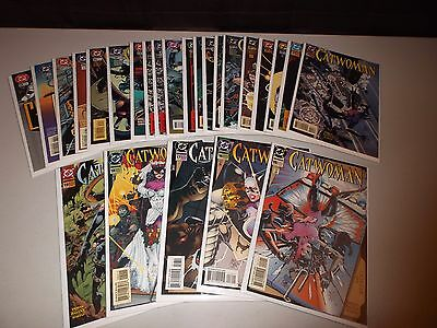 Catwoman #15-39  VF/NM  (Full Lot of 25)   DC 1993 Series