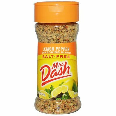 Mrs Dash Lemon Pepper Seasoning Blend (2.5oz)  71g Salt Free