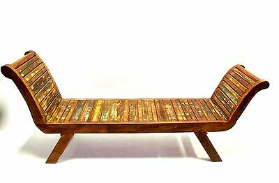 Bench / Lounge chair Eco-friendly 100% reclaimed peroba wood
