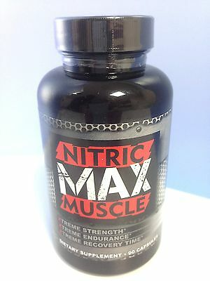 Nitric Max Muscle Strenght 90 capsules