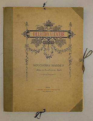 Collection Lescure, Extremely Rare Portfolios About Lace