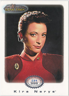 Star Trek Women Of Star Trek In Motion Archive Collection Ac10 Major Kira Nerys