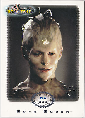 Star Trek Women Of Star Trek In Motion Archive Collection Ac2 Borg Queen 517/999
