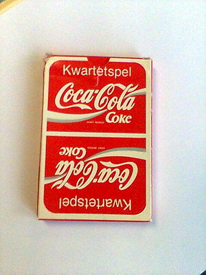 """Coca-Cola """"'DUTCH"""" Deck of Playing Cards"""