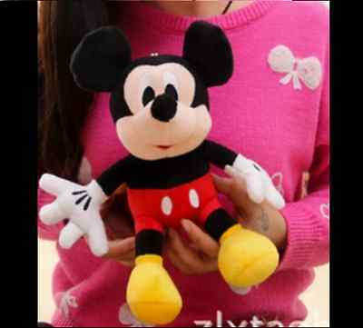 2015 Lovely Mickey Mouse Stuffed Soft Plush Toys Christmas Gifts 12 in